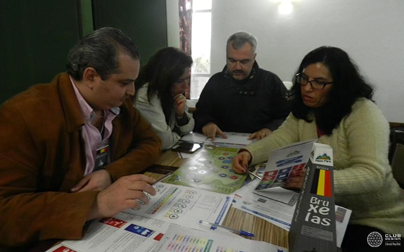 Walid Abdouni, Regina Arruda, Frederico Marins, Paola Riquelme