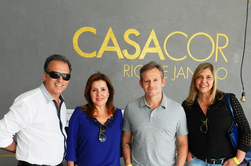 Alvaro Guillermo, Melba Nadais, Felipe Torelli e Sirley Cruz