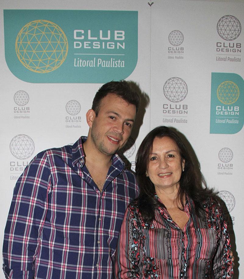 André Santana e Lucia Navajas