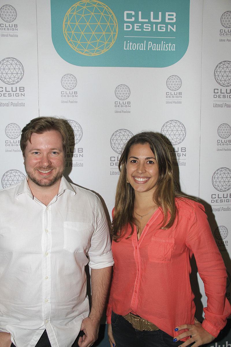 Lucas Faconti e Carla Santos