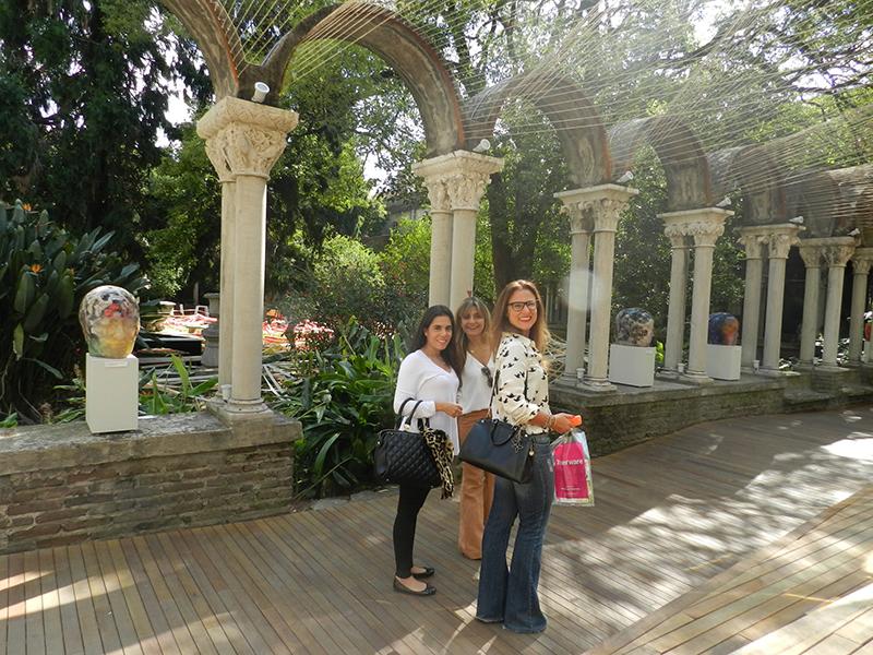Samira Megid, Lola Assaf e Fabia Megid