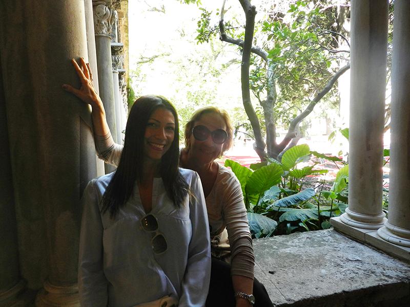 Carina Fontes e Irene Torre