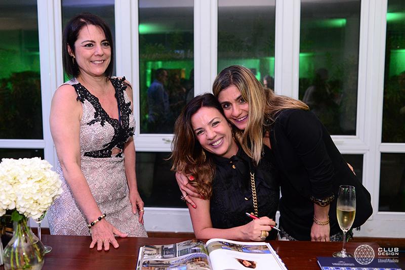 Olinda Russo, Adriana Paiva e Lola Assaf (Alhambra Móveis)