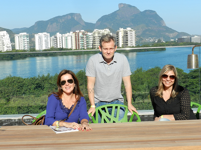Melba Nadais, Felipe Torelli e Sirley Cruz