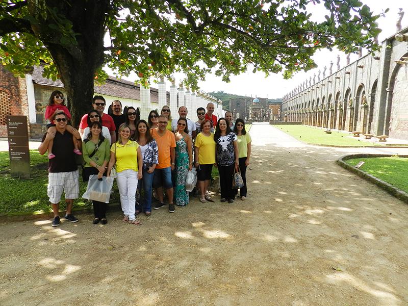 Grupo visita Oficina Brennand – Foto Alvaro Guillermo
