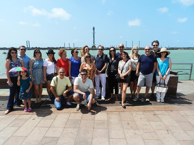 Grupo visita Marco Zero e região revitalizada do Recife Antigo – Foto Alvaro Guillermo
