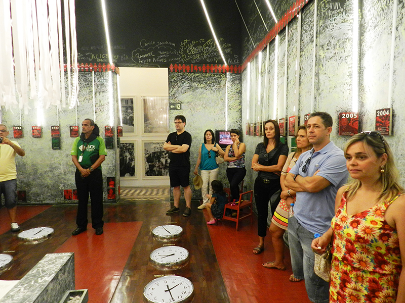 Grupo visita Museu do Frevo – foto Alvaro Guillermo