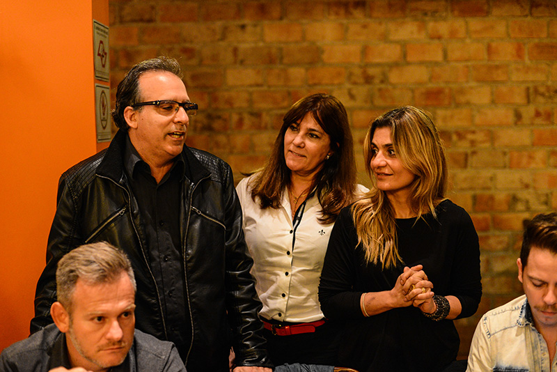 Alvaro Guillermo, Dilma Machado, Lola Assaf