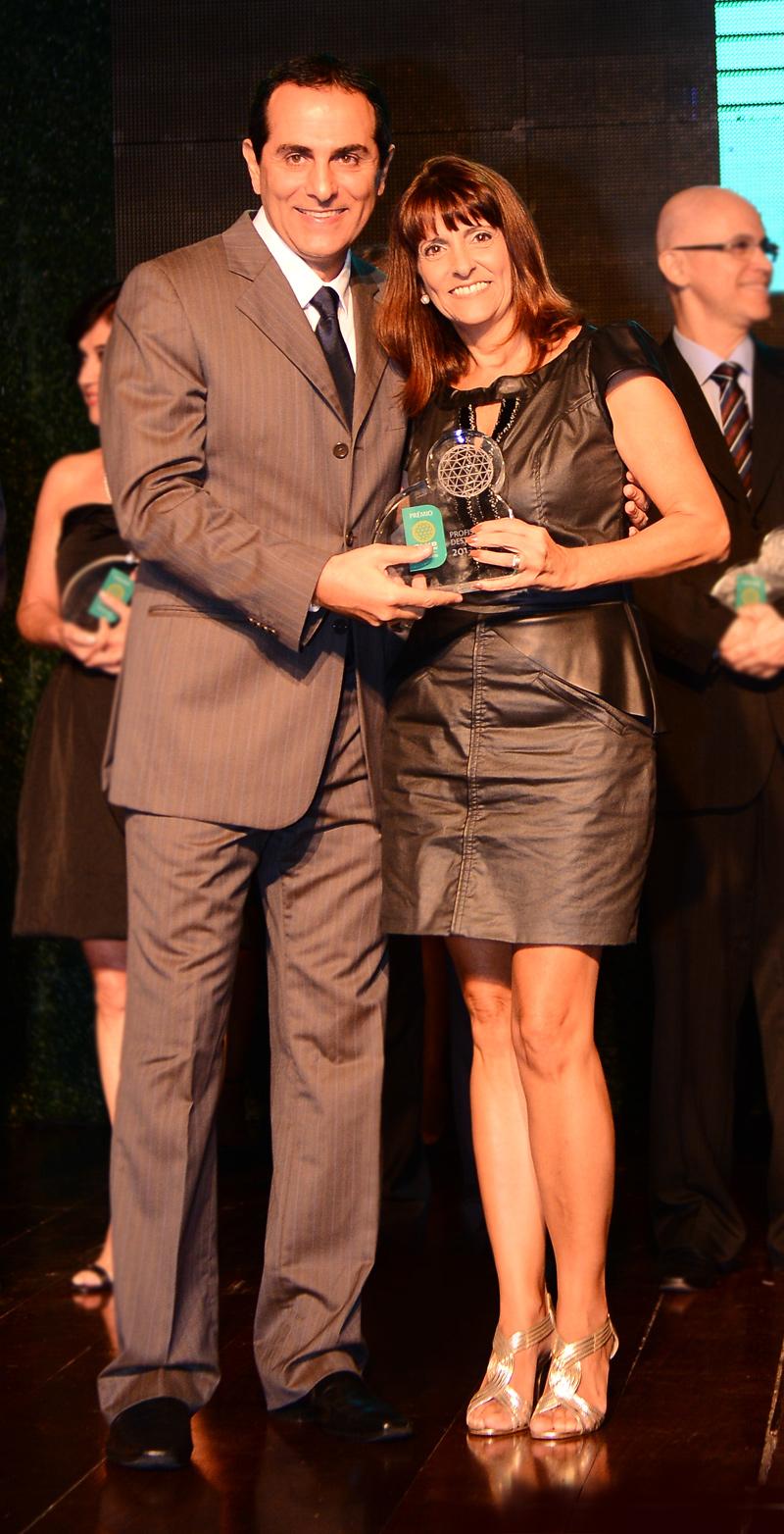 Fauzi Rahim e Rita Carrasco