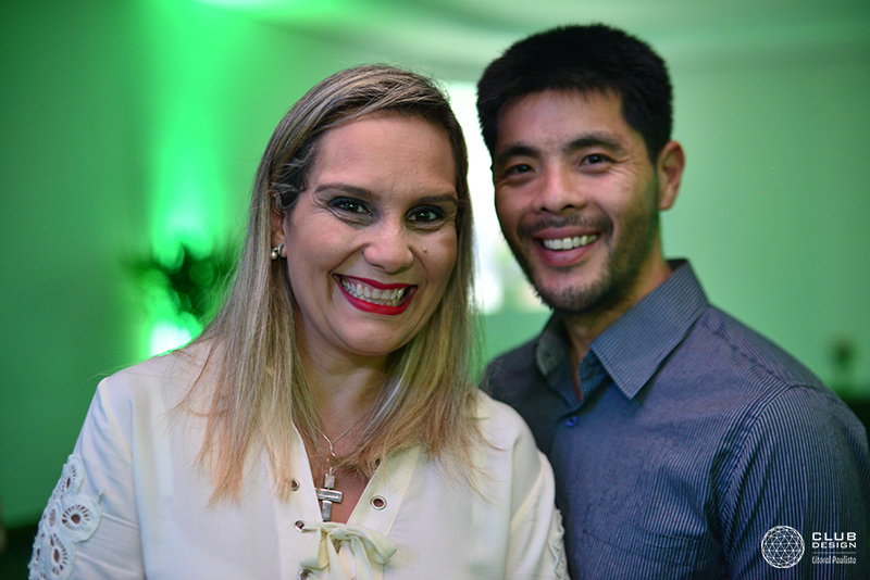 Karina Marvejol (Moldura Minuto) e Henrique Shimauti