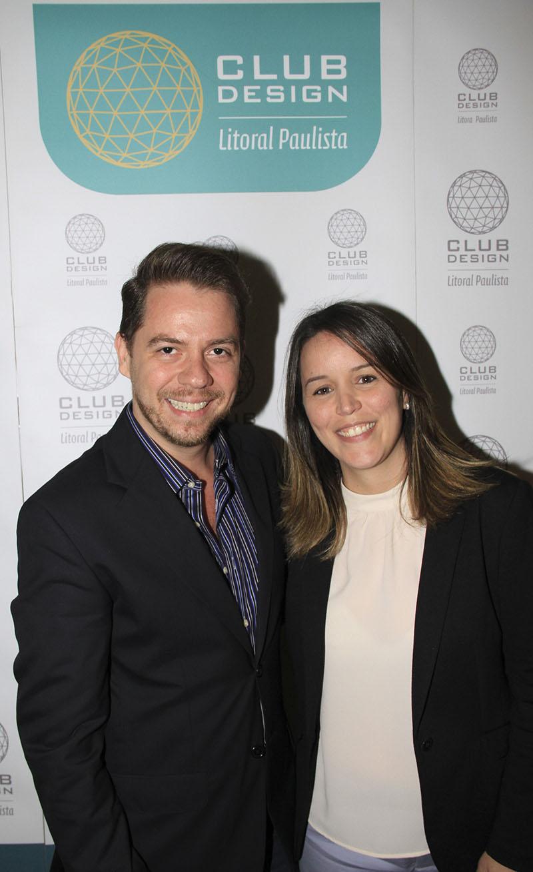 Leonel Fernandes e Mariane Bonito