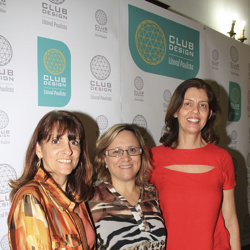 Rita Carrasco, Shirley Vaz Vedovate e Cristina Ferraz