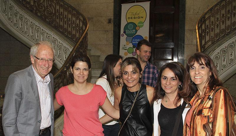 Roberto Capella, Roberta Sales, Lola Assaf, Luciana Pinheiro e Rita Carrasco
