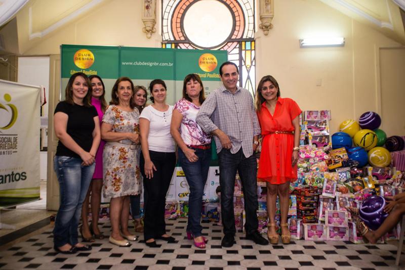 Mariane Bonito, Luana Segatto, Maria Ignez, Vanessa Rodrigues, Roberta Sales, Dilma Machado, Fauzi Rahim e Lola Assaf