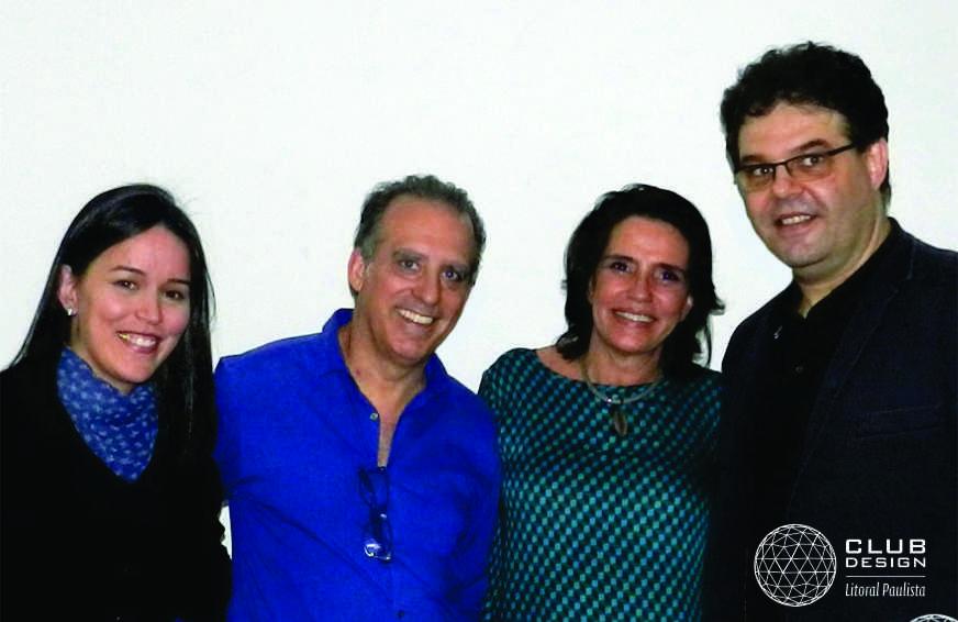 Mariane-Bonito-(Portobello)-Alvaro-Guillermo-(Mais-Grupo)-Renata-Amaral(Presidente-ABD-Nacional)-e-Sérgio-Bonito-(Presidente-Club-Design)