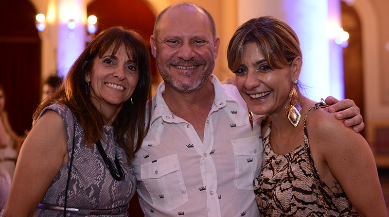Rita Carrasco, Carlos Pardal e Lola Assaf
