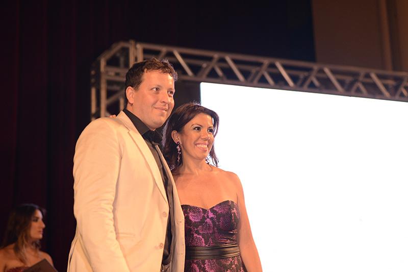 Ricardo Iglesias e Regiane Lopes
