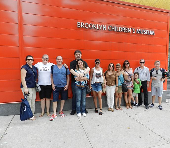 Club Design no Brooklyn Children´s Musem - que atende mais de 65 mil crianças por ano.
