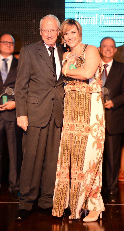 Roberto Alves Capella e Irene Torre