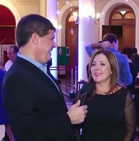Jornalista JB entrevista Melba Nadais Aidar